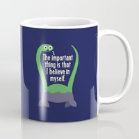 david Mugs featuring Myth Understood by David Olenick
