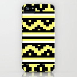Etnico Yellow version iPhone Case