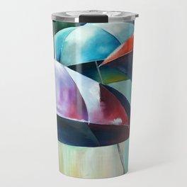 Umbrellas Travel Mug