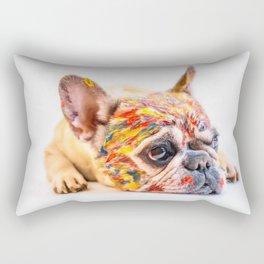 French Bulldog Cute Pet Rectangular Pillow