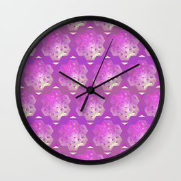 3D geometric shape Wall Clock