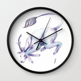 Eternal Deer Wall Clock