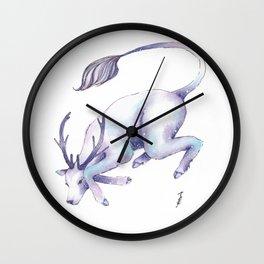 Eternal Deer Wall Clock