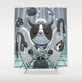 Angel Guppy Shower Curtain