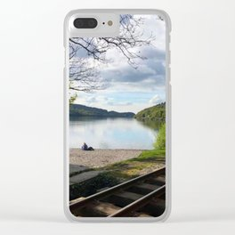 Miniature Railways In Wales Clear iPhone Case