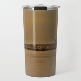 fishing in the coast from Spain Travel Mug