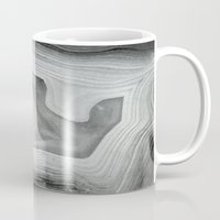 mineral Mugs featuring MINERAL MONOCHROME by Catspaws
