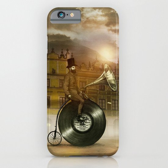 Music Man in the City, by Eric Fan and Viviana González iPhone & iPod Case