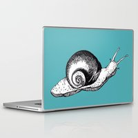 snail Laptop & iPad Skins featuring Snail by Aubree Eisenwinter