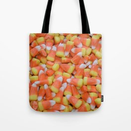 Candy corn | Candy | Halloween Decor | Happy Halloween Tote Bag