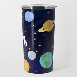 In space Travel Mug