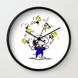Snoopy Happy Wall Clock