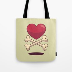 bone up on love Tote Bag
