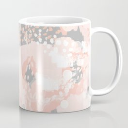 Penelope - abstract millenium pink and grey painting large canvas art decor Coffee Mug