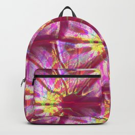 Fractal Abstract - Berry Colored Backpack