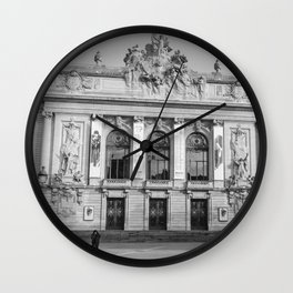 Opéra de Lille, France Wall Clock