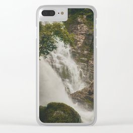 The Waterfalls of Nepal 001 Clear iPhone Case