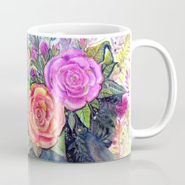painting roses makes me EUPHORIC! Coffee Mug