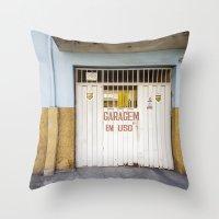 brazil Throw Pillows featuring Brazil by Sara_photographer