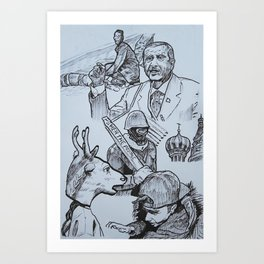 January 2014 Art Print