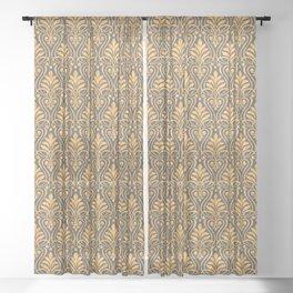 Art Deco Sheer Curtain