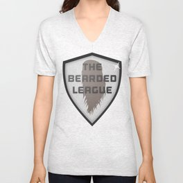 The Bearded League Unisex V-Neck