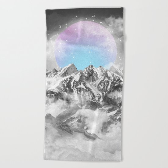 It Seemed To Chase the Darkness Away II Beach Towel