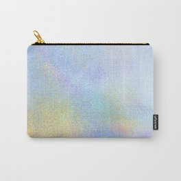 Holographic Iridescence Carry-All Pouch