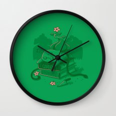 The power of knowledge Wall Clock