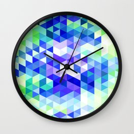 Abstract Pattern VII Wall Clock