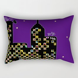 ...BETTER BE UNNOTICED IN THIS COMMUNITY... Rectangular Pillow