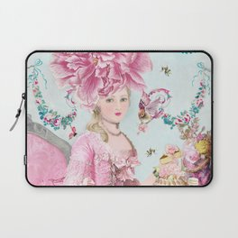 Marie Antoinette Wallflower Laptop Sleeve