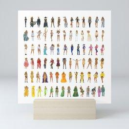 Rainbow #BeyParade Mini Art Print