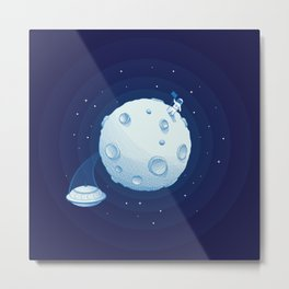 Invaders from Outer Space Metal Print