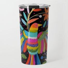 pajaros Otomi Travel Mug