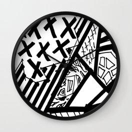 Organised Chaos - BGB Drift Collection Wall Clock