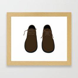 Pair Of Shoes Framed Art Print