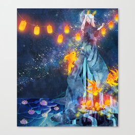 Moon Festival Canvas Print