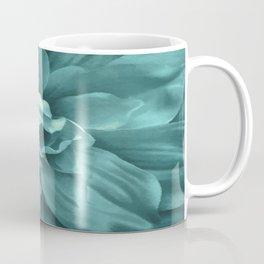 Soft Teal Flower Coffee Mug