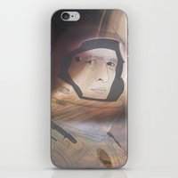 interstellar iPhone & iPod Skins featuring Interstellar by Itxaso Beistegui Illustrations