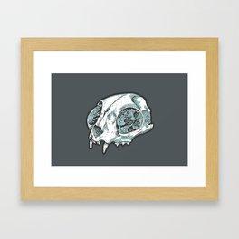 Here, Kitty Kitty Framed Art Print