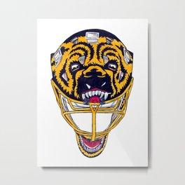 Moog - Mask Metal Print