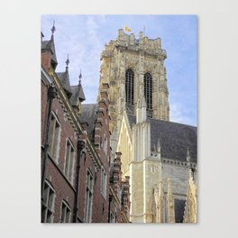 The mighty cathedral Canvas Print