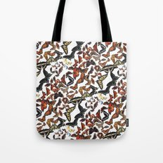 Butterflies of Maine Pattern Tote Bag