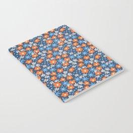 Orange Wildflowers No. 10 Notebook