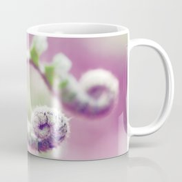 Ferns in Green, Purple, and Pink Coffee Mug