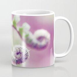 Ferns in Green, Purple, and Pink Coffee Mug