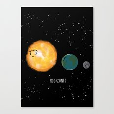 Moonzoned Canvas Print