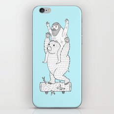 On a cause which contributed to the expulsion of the Lithuanian bear iPhone & iPod Skin