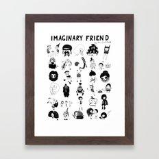 Imaginary Friend POSTER Framed Art Print
